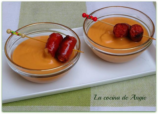 Crema De Garbanzos Con Chistorra