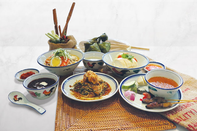 Singapore Commemoration Local Degustation Menu