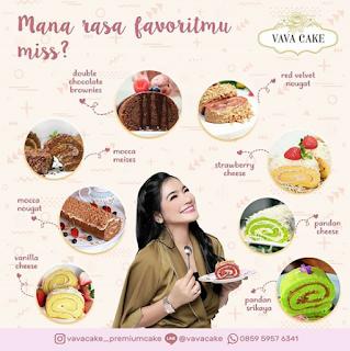 Review Vava Cake Premium Cake by Titi Kamal Varian Rasa dan Harga Terbaru
