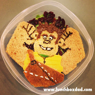 Disney kids bento lunch