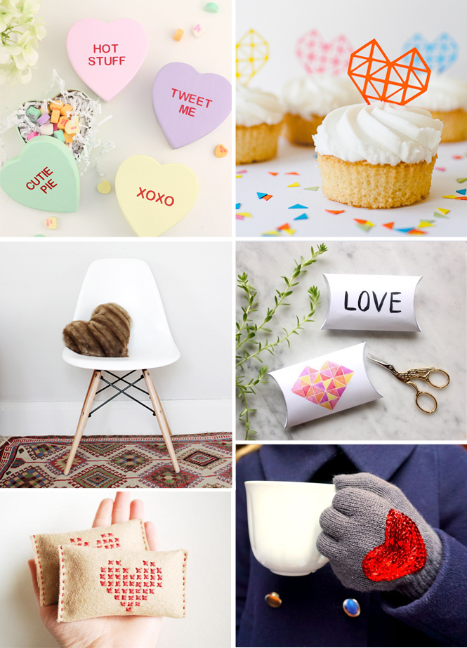 Round-up of 12 Valentine's Day DIYs that you need to try