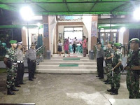 TNI, POLISI Jaga Ketat Misa Natal, Bupati Ucapkan Terimakasih