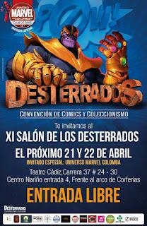 Poster 2 Salon de los DESTERRADOS 2018