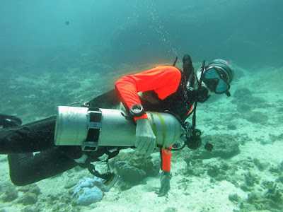 PADI recreational side mount Instructor course on Phuket