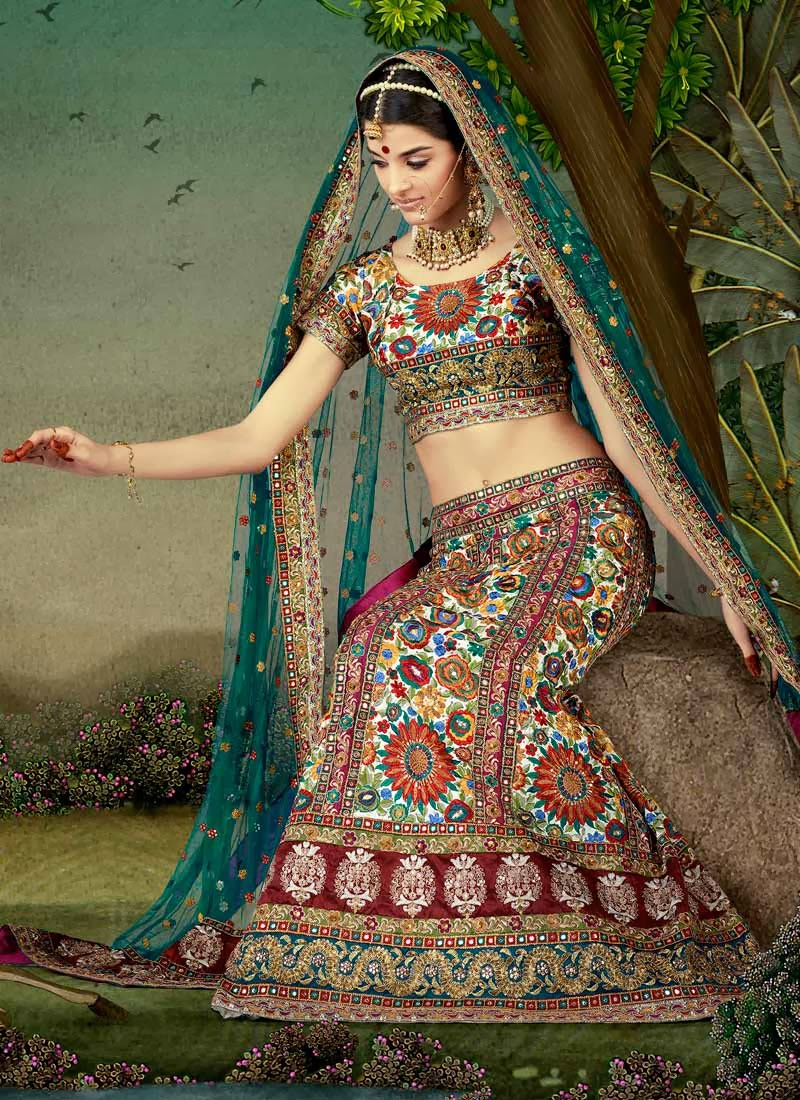 Bride's Shaadi Ka Joda: Lehanga Odhni dress