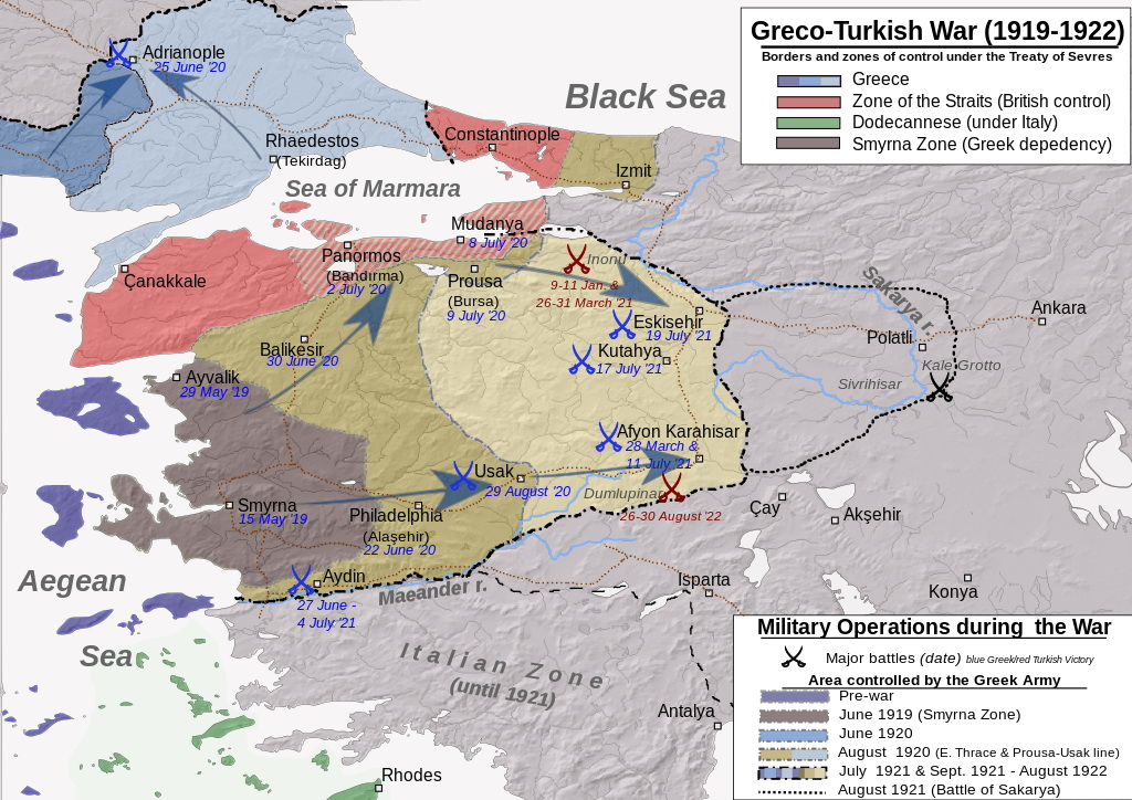 Greco-Turkish War (1919-1922)