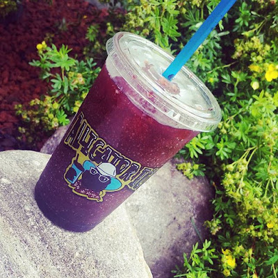 huckleberry slush