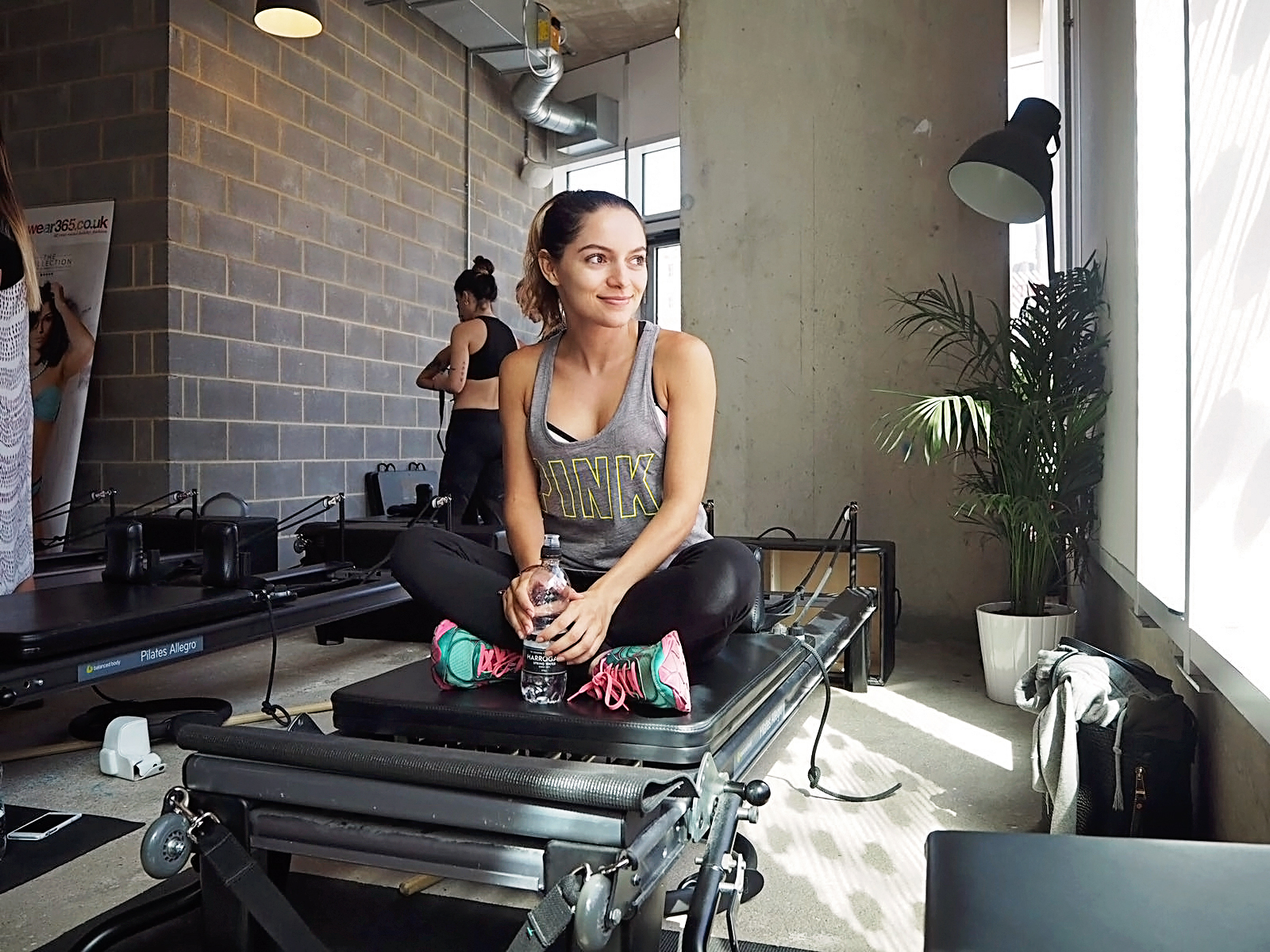 Whitney's Wonderland's Whitney Valverde Top UK Fashion and Lifestyle Blogger shares Reform Pilates at Move Your Frame experience with Swimwear 365