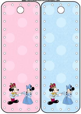 Imprimibles Minnie Y Mickey Rey Y Reina 4 Ideas Y
