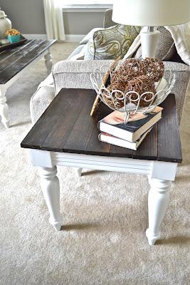 White Goss Living Room Furniture
