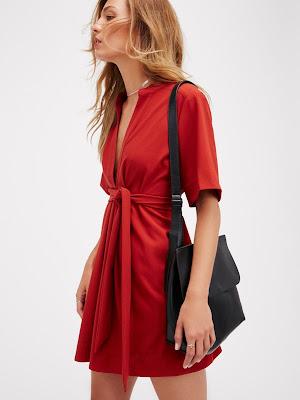 coleccion de Vestidos Rojos Cortos