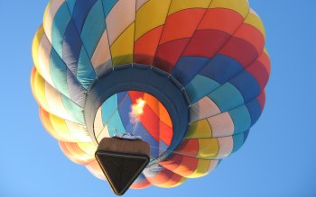 Wallpaper: Balloon flight in Colorado