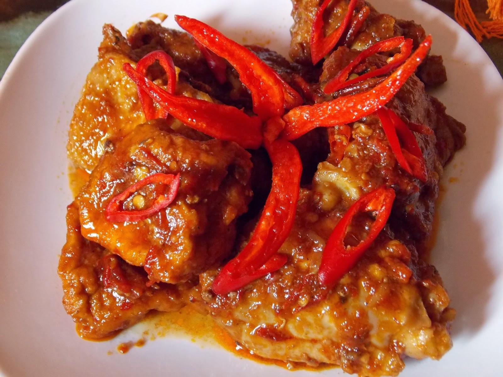 Balado Ayam Bumbu Ebi