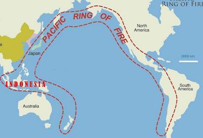 Letak geologis dan letak geomorfologis Indonesia