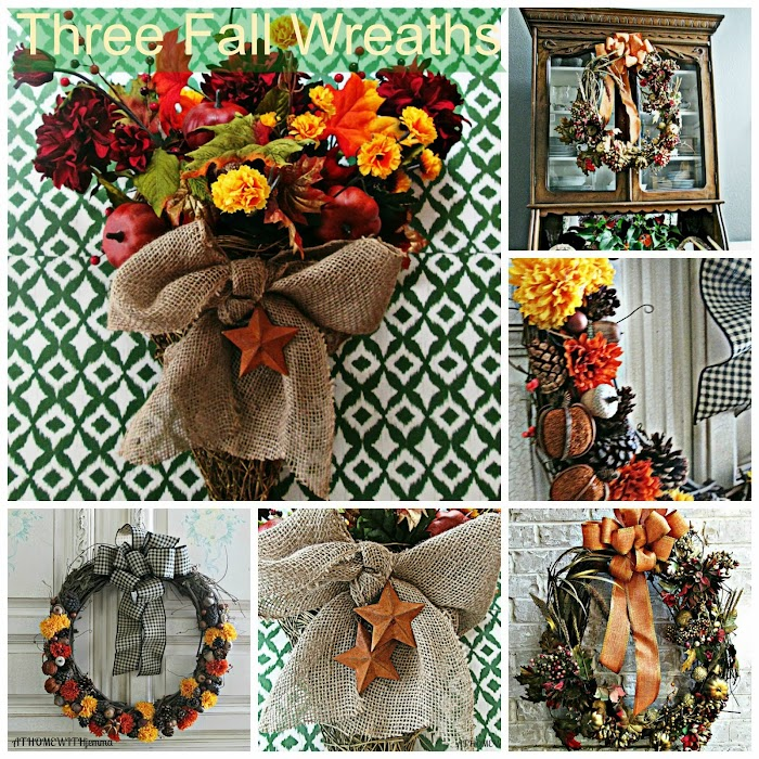Three Welcoming Wreaths For Fall