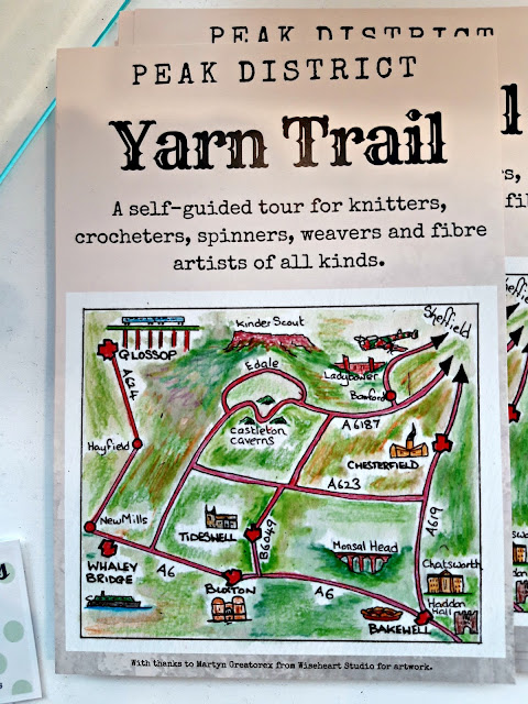 Photograph of Peak District Yarn Trail flyer