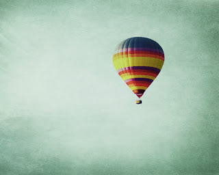 Single Hot Air Balloon Photography by Lora Risley Images on Etsy