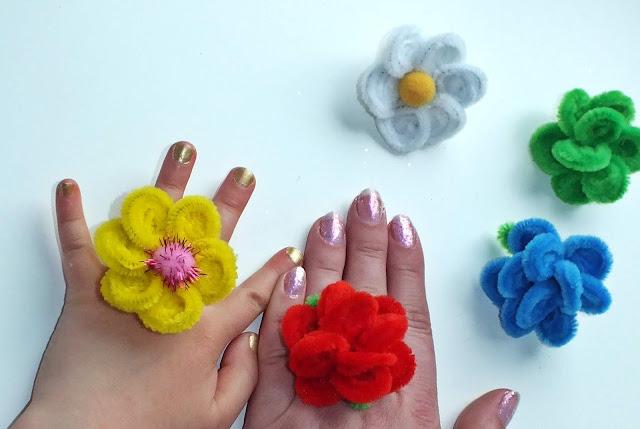 Kreatywne pierścionki.