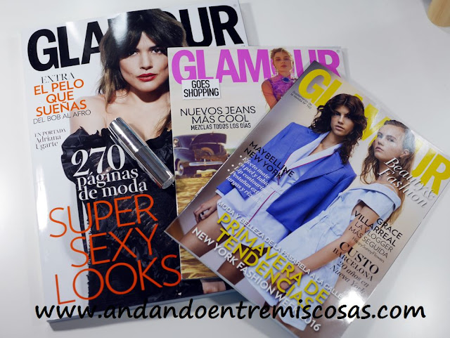 Regalo Revista Glamour Abril 2016