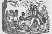 Image of black slaves being mistreated