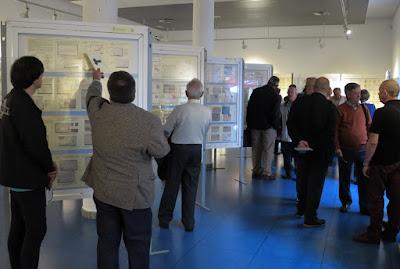 Exposición filatélica 2016 en Mieres