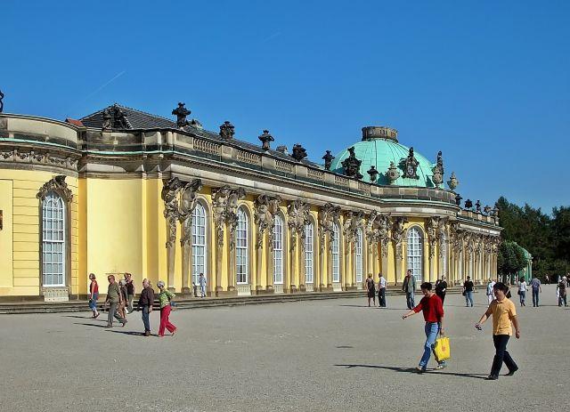 niemieckie atrakcje, zwiedzanie, pałac, Poczdam