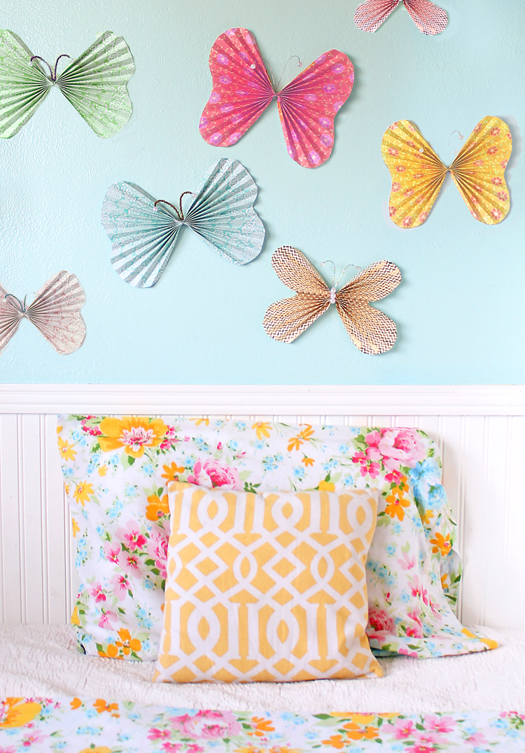 These Butterflies Make Super Cute Affordable Wall Decor For A Little Girls Bedroom Or Nursery Theyd Also Be Great Spring Party