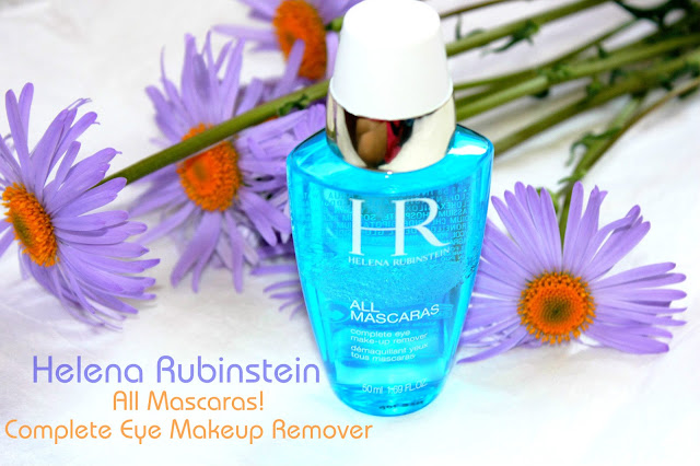 Отзыв: Двухфазное средство для снятия всех видов макияжа с глаз Helena Rubinstein All Mascaras!