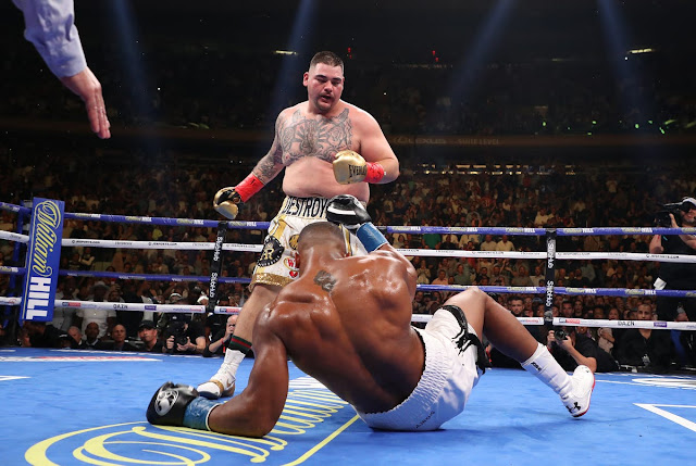 Andy Ruiz Stops Anthony Joshua In The 7th Round