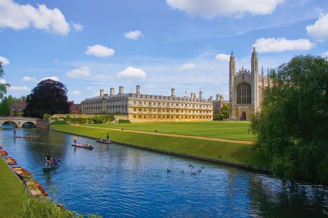 英國劍橋以大學為中心,帶動區域發展