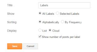 ব্লগে আকর্ষণীয় List Label এবং Cloud Label Widget যুক্ত করুন!