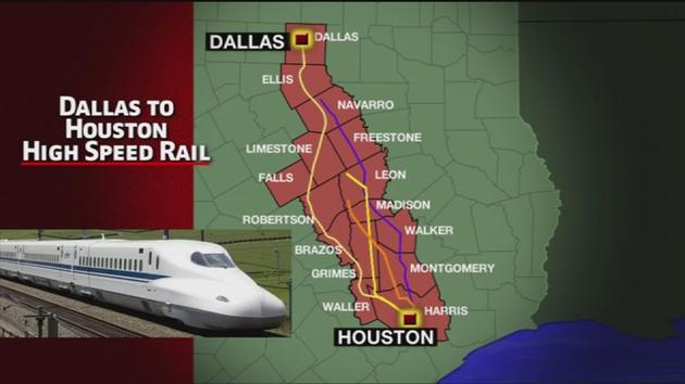 High Speed Rail Projects In Texas Nextbigfuture Com