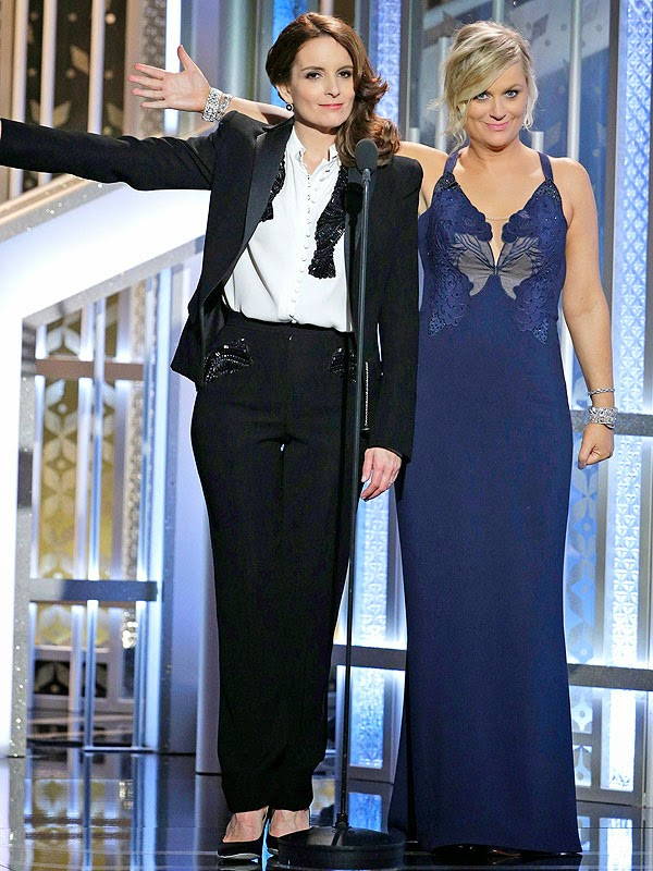 Golden Globes 2015 Tina Fey and Amy Poehler