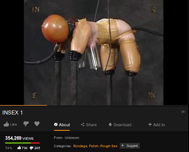 Violent fetish porn