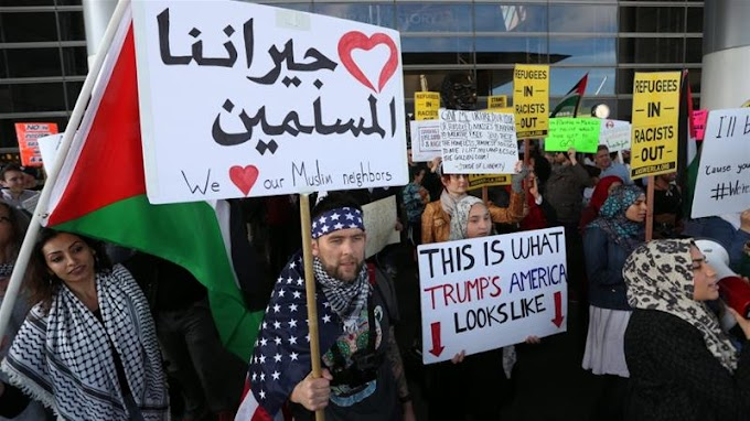 Donald Trump clashes with courts over immigration ban