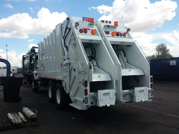 Refurbished Refuse Trucks