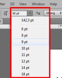 Cara Mengatur Ukuran FONT/TEKS pada Photoshop