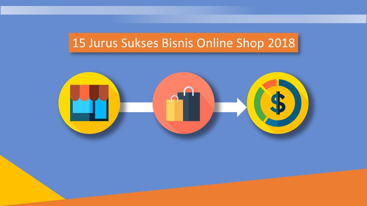 cara sukses jualan online
