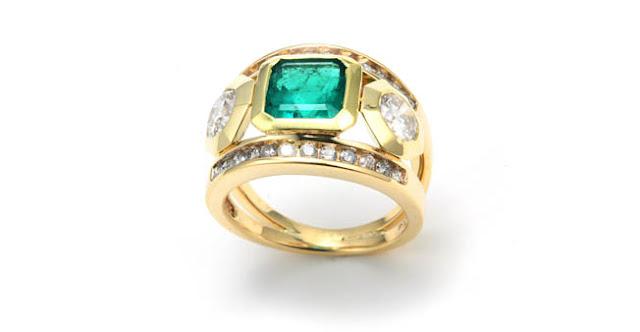 anillo de oro con esmeraldas precio | foro de minerales