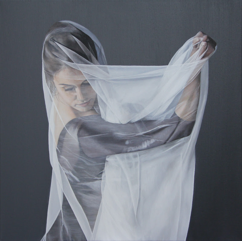 Realist Figurative Paintings by Sally Lancaster.