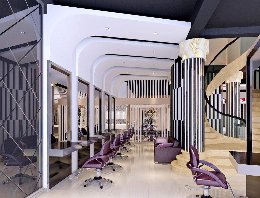 Luxury Hair Salon Designs Home Decor