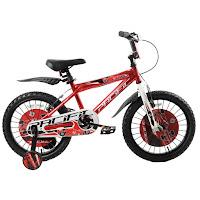 16 inci pacific hotshot glossy kids bike