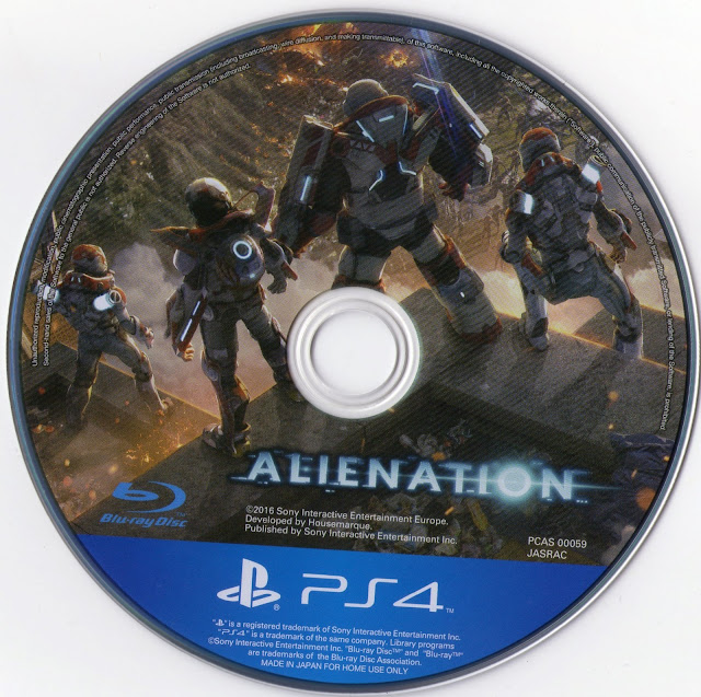 Label Alienation PS4