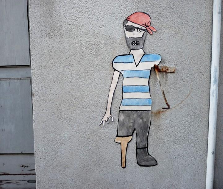 Уличный шутник. OakOak 7
