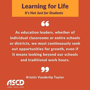 Learning for Life Quote