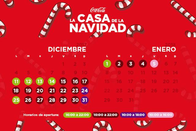 La casa de la Navidad de Cocacola en la Real Casa de Postas. Gratuito