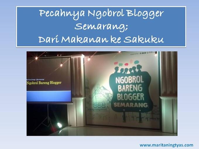 Pecahnya Ngobrol Blogger Semarang; Dari Makanan ke Sakuku