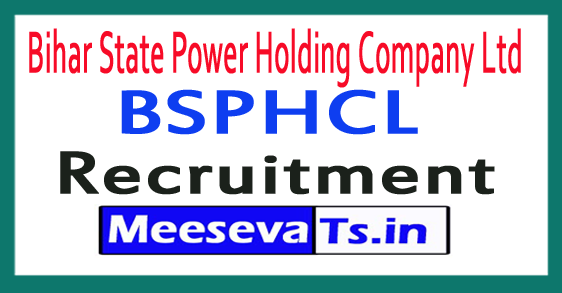 Bihar State Power Holding Company Ltd BSPHCL Recruitment