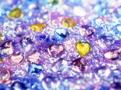 Arte en cristal de colores