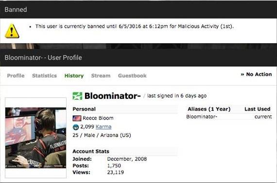 Jogador de 'Counter-Strike' é banido por mil anos por cometer assédio